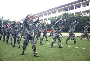 学员训练风采
